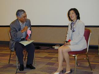 中尾会長と対談
