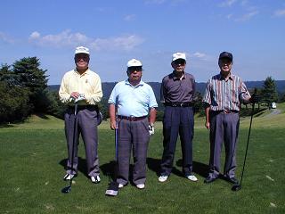 最年長組 魚中卒の4人組