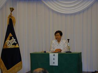 議長の寺島副会長