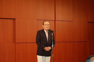 岩崎実行委員長のあいさつ