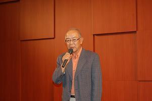千田副会長の万歳三唱