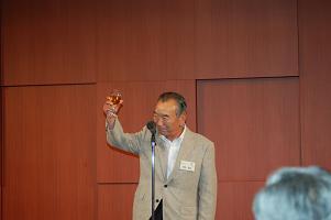 澤崎市長による乾杯
