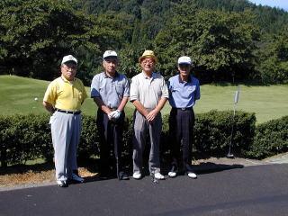 第3回ゴルフ大会の様子