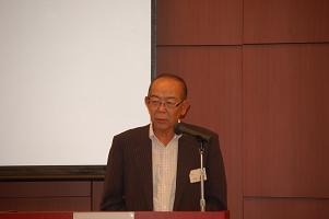 新たに選任された千田会長