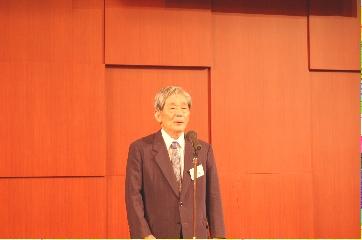 兵庫魚高会 室澤会長のあいさつ