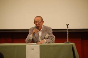 第19代校長 上田清成さんの祝辞