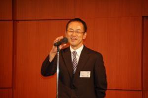 米田幹事学年代表のあいさつ