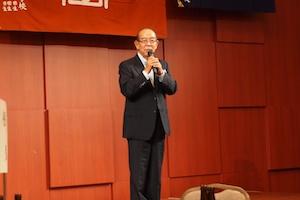 千田会長の挨拶