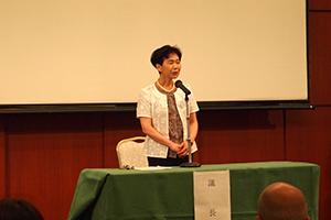 議長の山本芙紀子 副会長