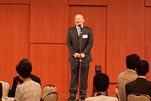 長崎亨幹事代表幹事のあいさつ