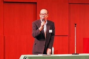 千田会長のあいさつ